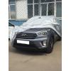 Тент для автомобиля Для седанов M серебрянный apt020