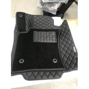 Коврики из Экокожи 5D/3D Черные